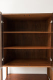 Walnut and Mahogany Wall Unit