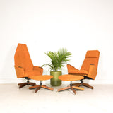 Adrian Pearsall Lounge Chair and Ottoman