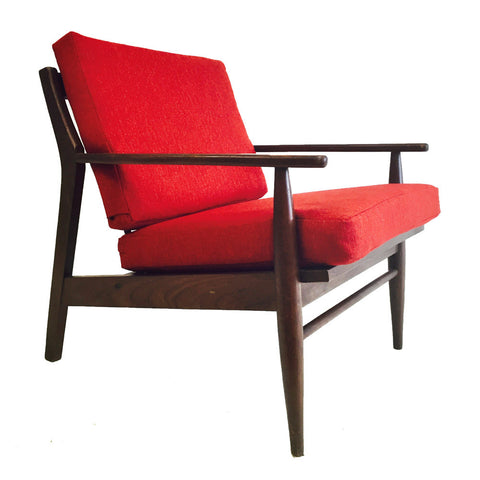 American Danish Style Lounge Chair