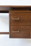 American of Martinsville Walnut Desk
