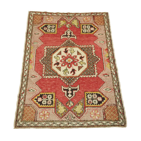 Vintage Turkish Anatolian Rug #5