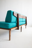 atomic sofa - teal