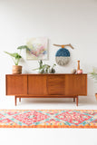 Danish Teak Sideboard with Sliding Doors