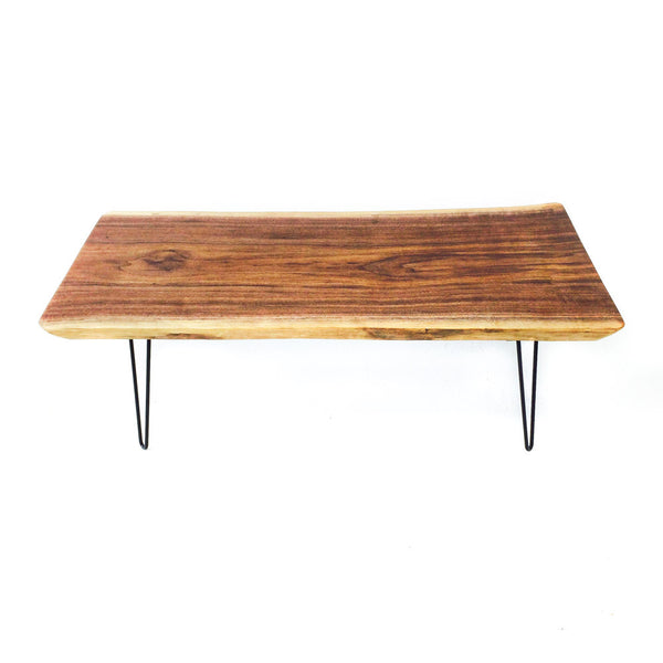 Live Edge Black Walnut Coffee Table Atomic Furnishing Design