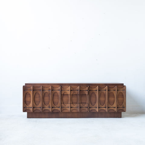 Mid Century Modern Canadian Brutalist Sideboard/Credenza