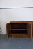 Canadian Brutalist Sideboard/Media Center