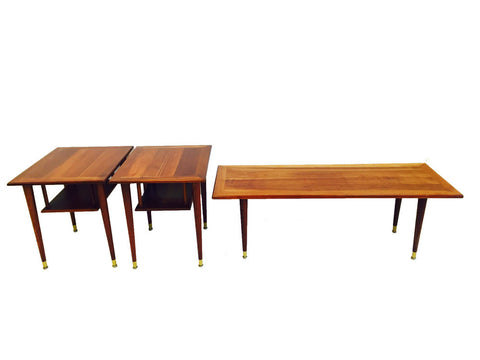 Cherry Coffee & End Table Set