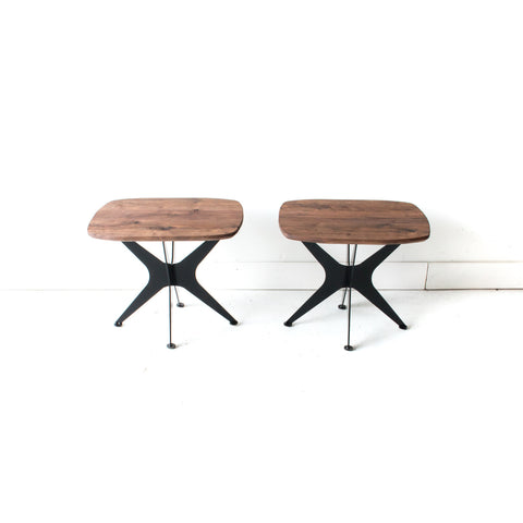 Pair of Stellar End Tables