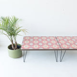 Vintage Turkish Tile Coffee Table
