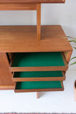 Danish Teak Sideboard/Hutch by ACO Mobler