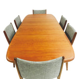 Danish Teak Dining Set - 6 Chairs