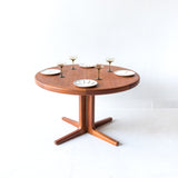 Vejle Stole Mobelfabrik Dining Table with 2 Leaves