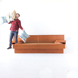 King Size Danish Teak Platform Bed