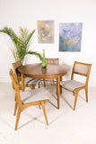 Drexel Dining Set with 3 Leaves and 4 Chairs