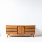 Mid Century Large 9 Drawer Dresser