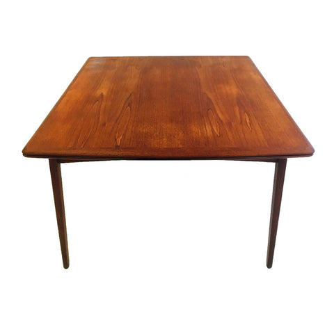Danish Teak Expandable Dining Table by Svend Madsen