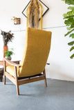 Mid Century Scoop Chair