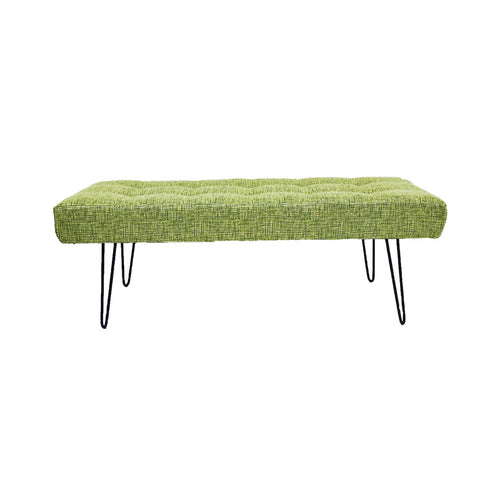 Atomic Tufted Bench/Ottoman