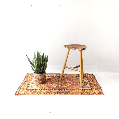 Oak and Black Walnut Stool