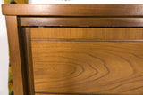 Mid Century Modern Highboy Dresser by Hooker