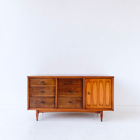 Mid Century Modern Mainline Dresser for Hooker Furniture