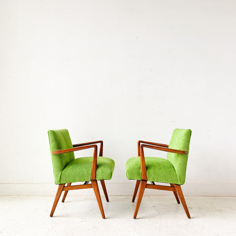Pair of Jens Risom Chairs