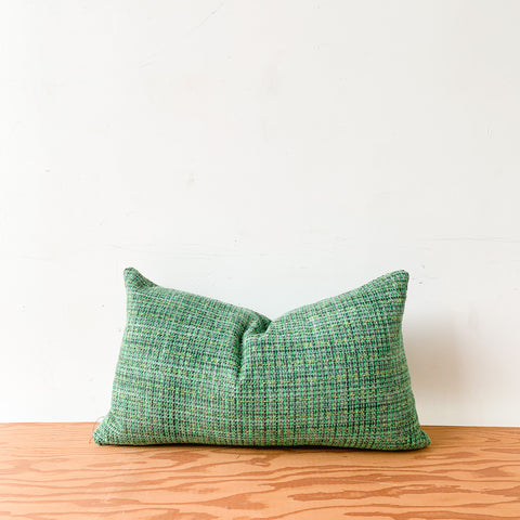 Multi Green Lumbar Pillow