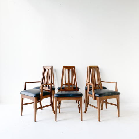Set of 6 Dining Chairs by Young