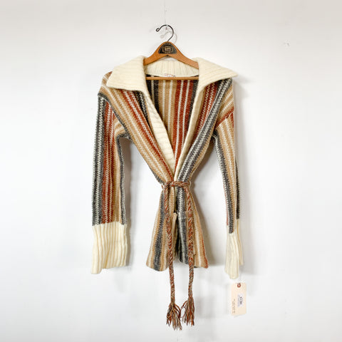 1970s Wrap Sweater - S/M
