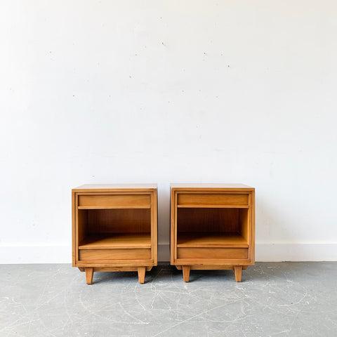 Pair of Mid Century Modern RWAY Nightstands