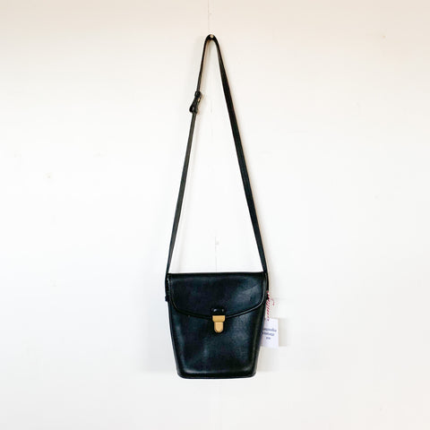 Vintage Coach Black Binocular Bag