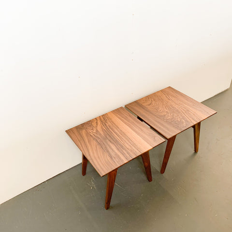 Walnut Side Table by Iron & Ash (sold individually)