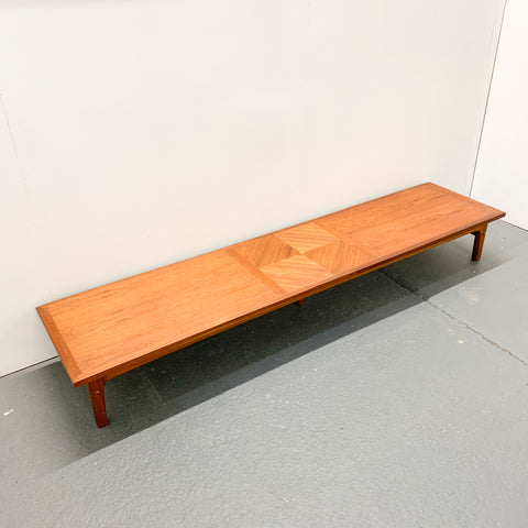 Extra Long Mid Century Coffee Table