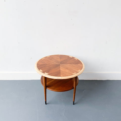 Round Lane End Table