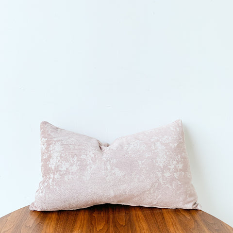 Distressed Blush Pillow