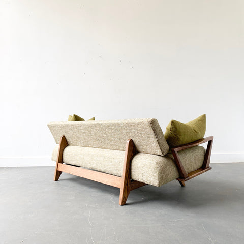 Mid Century Modern Pull Out Daybed