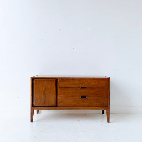 Mid Century Modern Walnut Buffet by United