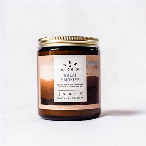 Great Smokies Candle - Elder & Co