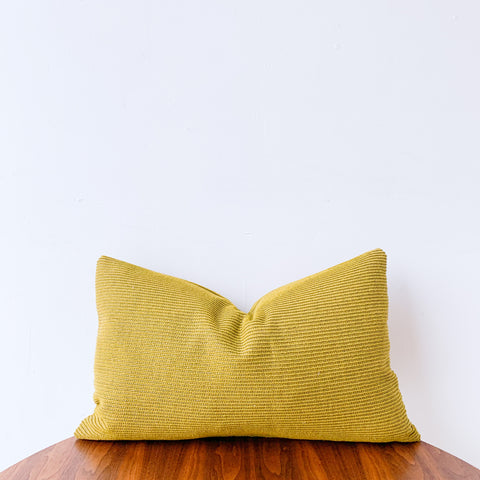 Chartreuse Lumbar Pillow