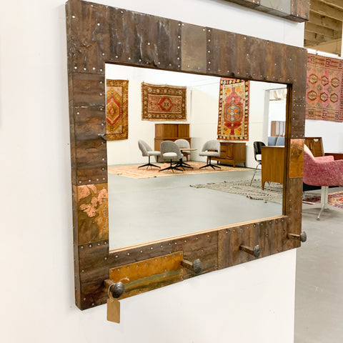 "36"" Hall Tree Mirror - B"