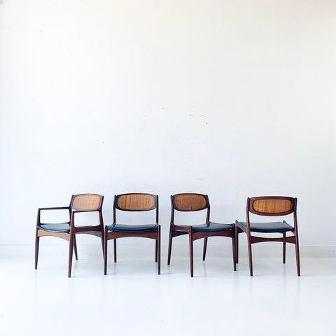 Set of 4 Kofod Larsen Dining Chairs
