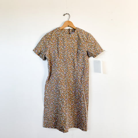 Prairie Floral Shift Dress - M