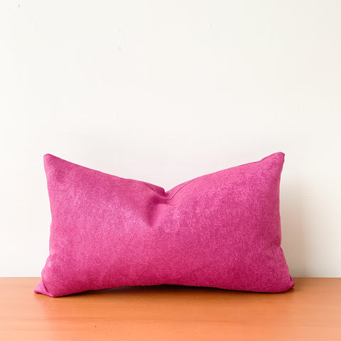 Fuschia Lumbar Pillow