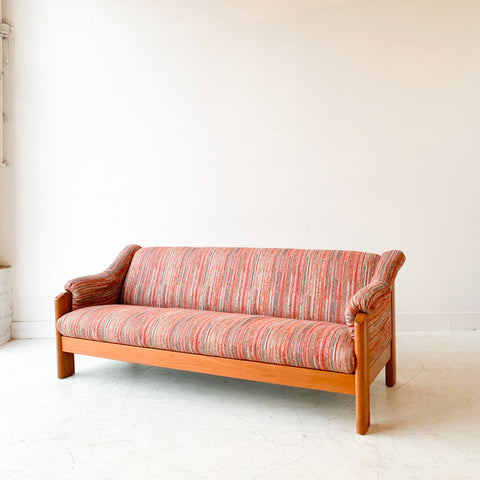 Vintage Ekornes Sofa with New Upholstery