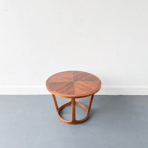 Round End Table by Lane