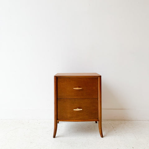 Robsjohn-Gibbings for Widdicomb Saber Leg Nightstand