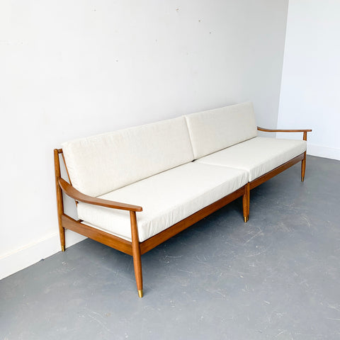 Mid Century Modern 2 Part Sofa/Sectional