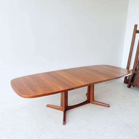 Niels Moller for Gudme Mobelfabrik Danish Teak Dining Table