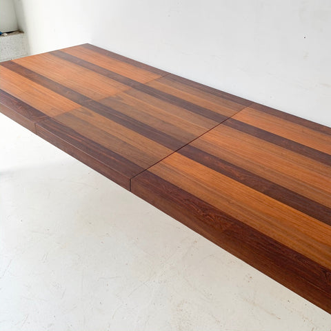 Mid Century Modern Parsons Dining Table With 1 Leaf By Dyrlund Atomic Furnishing Design