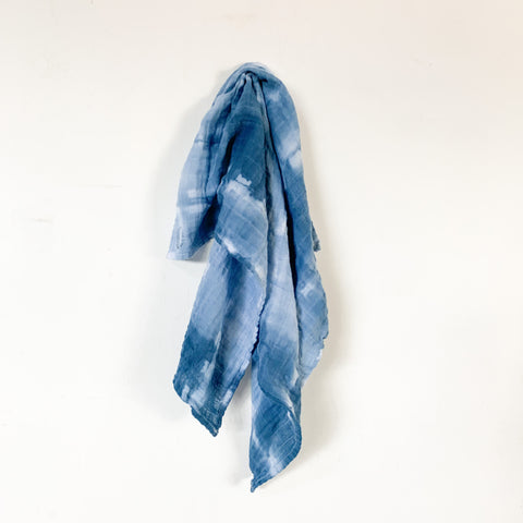 Hand Dyed Cotton Gauze Bandana 22x22 - 10